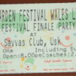 Finale Party Admission Ticket